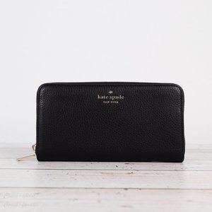 NWT Kate Spade Leila Leather Continental Wallet